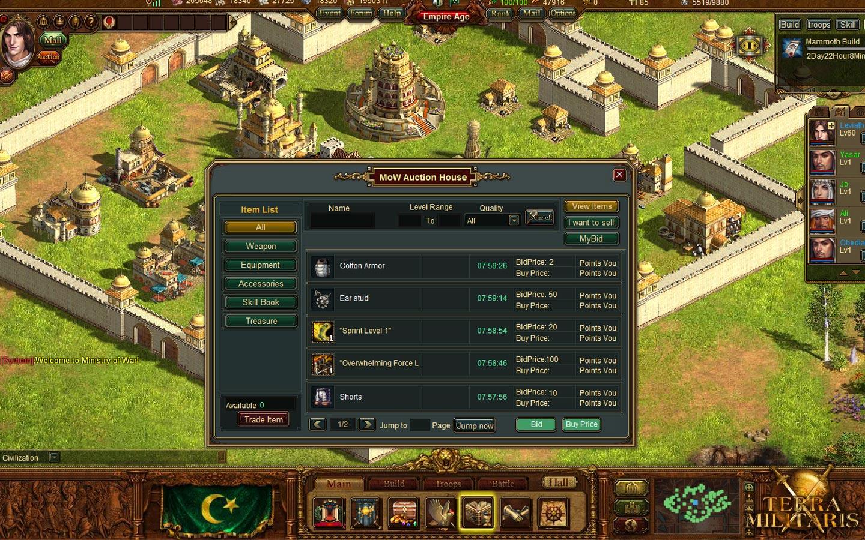 Klicke auf die Grafik für eine größere AnsichtName:terra_militaris_screenshot_auction_house.jpgHits:118Größe:392,3 KBID:3220