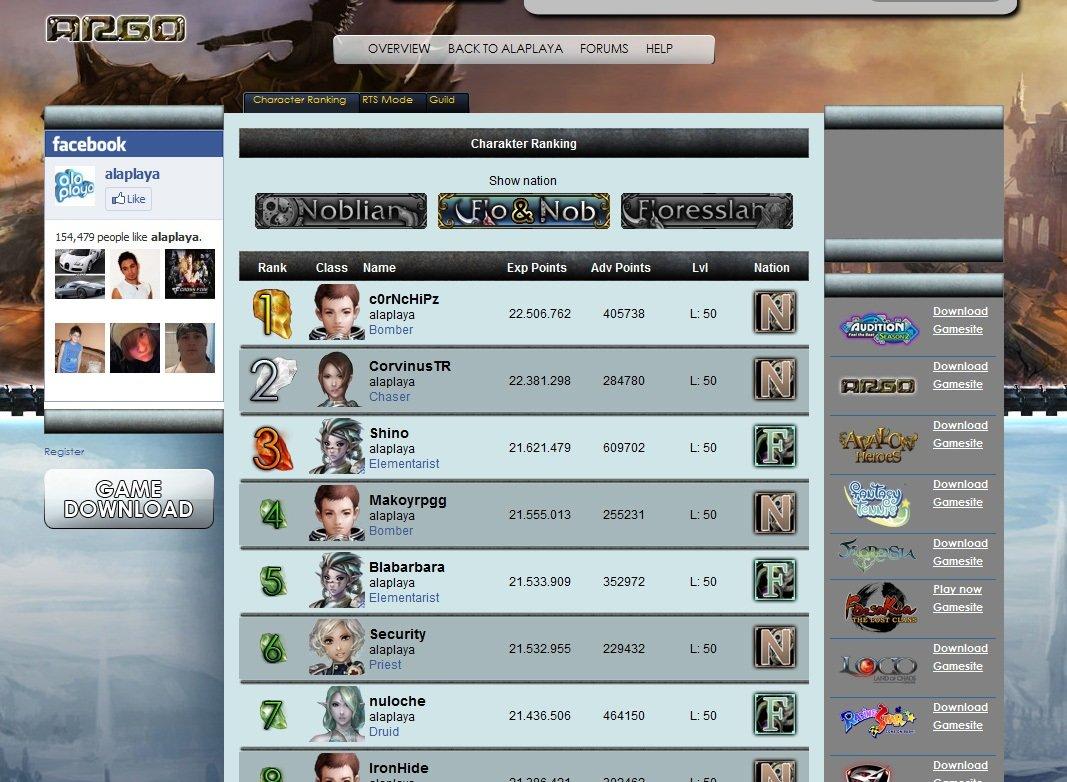 Klicke auf die Grafik für eine größere AnsichtName:ARGO Online_Ranking ladder_Screenshot.jpgHits:147Größe:157,3 KBID:3902