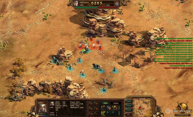 Klicke auf die Grafik für eine größere AnsichtName:terra_militaris_screenshot_desert_battle1.jpgHits:78Größe:311,5 KBID:5012