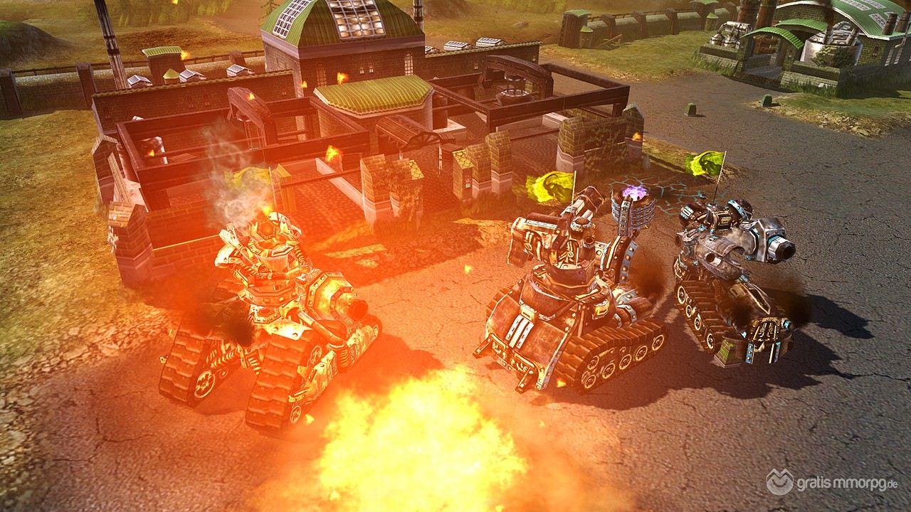 Klicke auf die Grafik für eine größere AnsichtName:Splitscreen_Steel Legions_Warfare_Screenshot_01.jpgHits:56Größe:208,5 KBID:5343