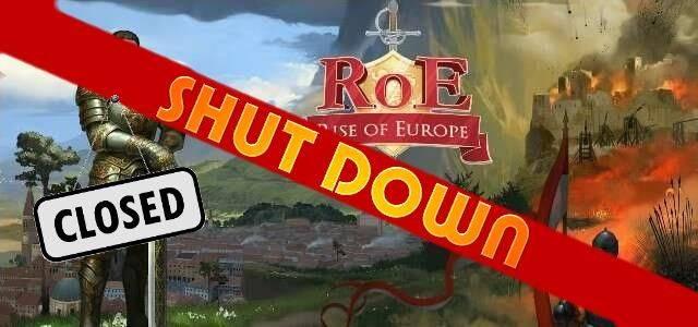 Rise of Europe - logo 640 shutdown