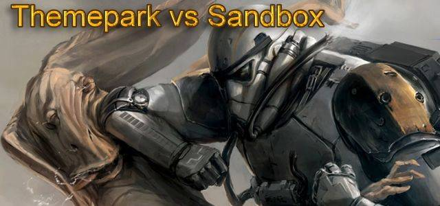 Exklusiv: Themepark vs. Sandbox