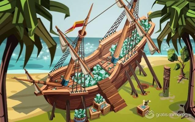 Goodgame Empire erweitert seine Welt -  Goodgame Empire cargo ship
