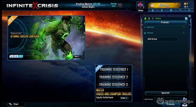 Infinite Crisis screenshot (1)