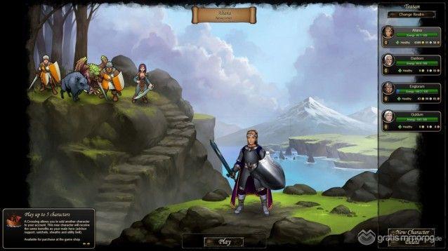 Therian Saga screenshot 1