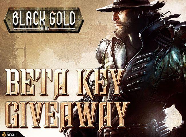 Black Gold Online CBT Giveaway