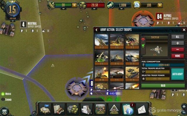 Rising Generals screenshot 3