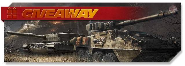 Armored Warfare - Giveaway heaolgo - DE