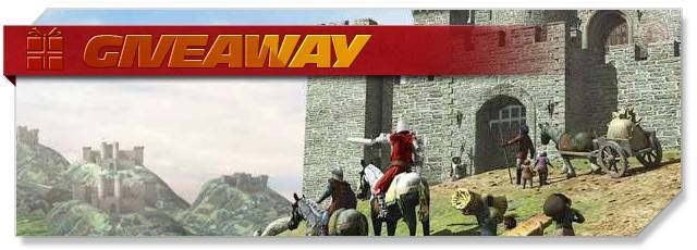 Stronghold Kingdoms - Giveaway headlogo - DE