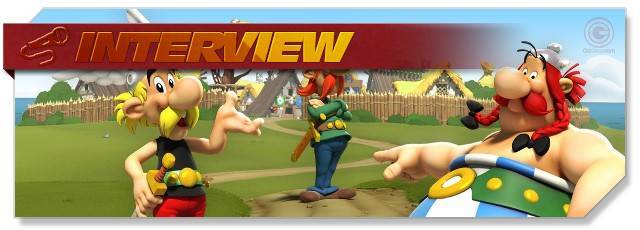Asterix & Friends - Interview headlogo - DE