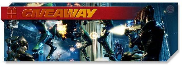 Warframe - Giveaway headlogo - DE