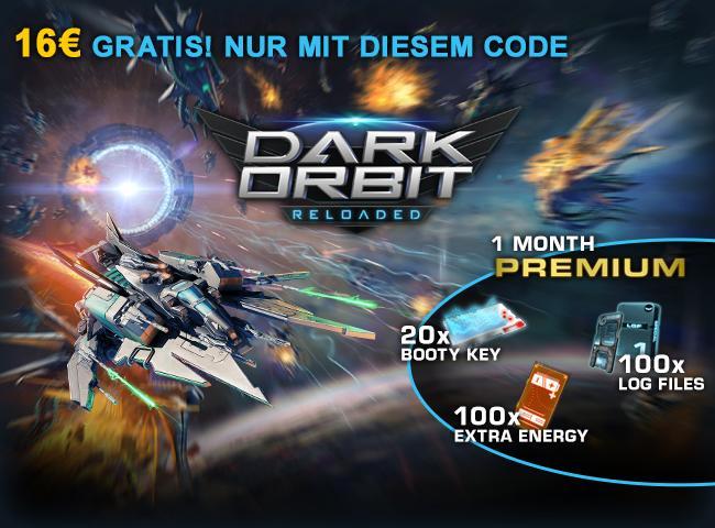 Dark Orbit Giveaway image - DE