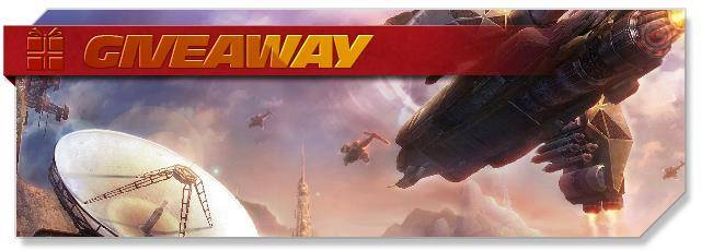 Trinium Wars - Giveaway headlogo - DE