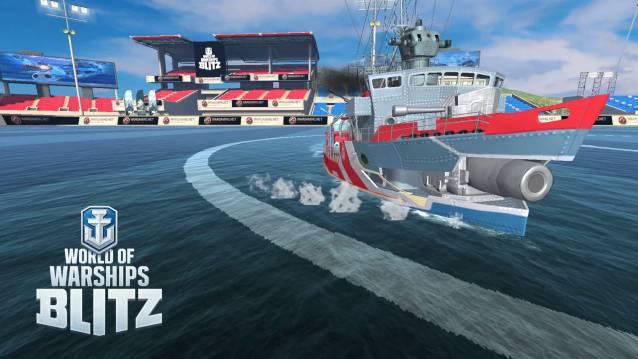 World of Warships Blitz ist ein mobiles Free-to-Play-Action-MMO das die Spieler in spannende Seeschlachten entführt
