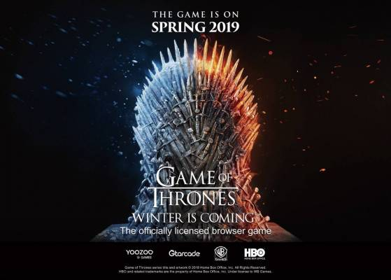 Game of Thrones Winter Is Coming angekündigt, ein Browser-Strategiespiel unter offizieller Lizenz von HBO®. Warner Bros. Interactive Entertainment, HBO® und Yoozoo arbeiten eng zusammen