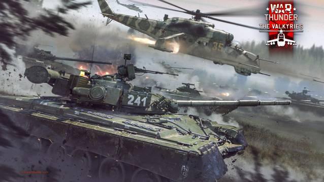War Thunder ist ein kostenlos spielbares, plattformübergreifendes Fahrzeugkampf-MMOG