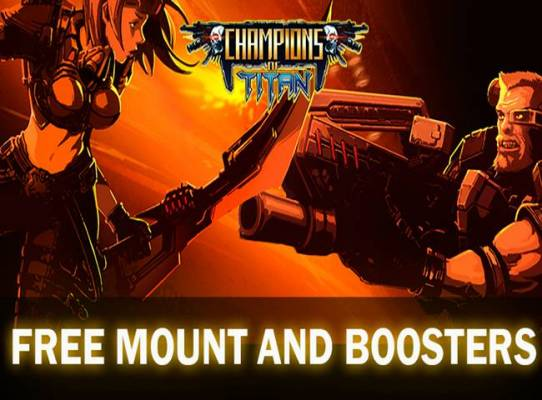 Champions of Titan is a Sci-Fi Action MMORPG with fast-paced MOBA style combat.