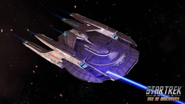 Spieler in das free-to-play MMO RPG im Star Trek-universum