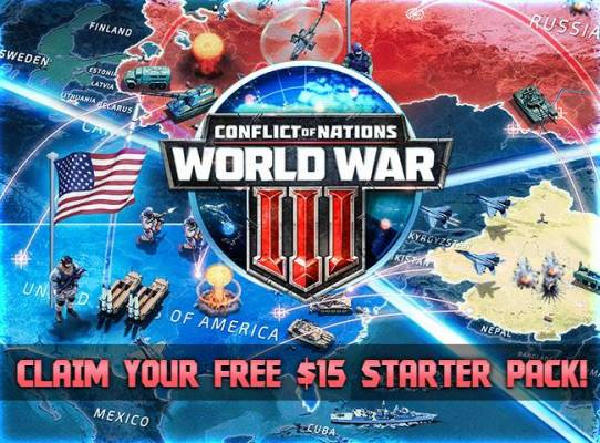 Conflict of Nations World War 3 Free Pack New Users