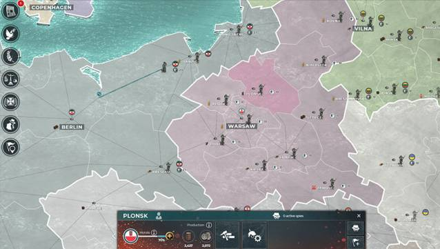 Supremacy 1914 ist in der Browserversion, Steam, iOS, Android