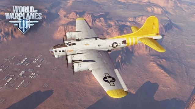 Große, legendäre US-Bomber für World of Warplanes