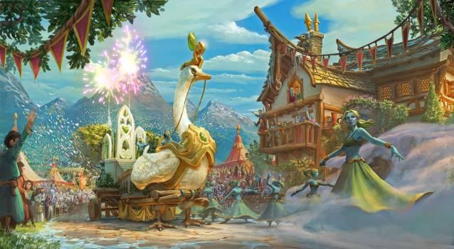 Elvenar Event Carnival Screenshot - Elvenar feiert Karneval