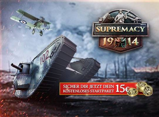 Supremacy 1914 – Startpaket zum The Great War Update