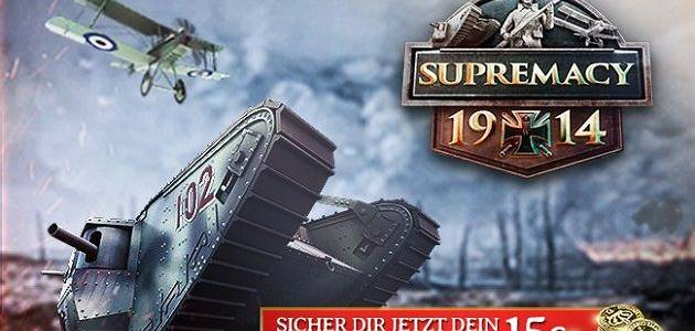 Supremacy 1914 – Startpaket zum The Great War Update news