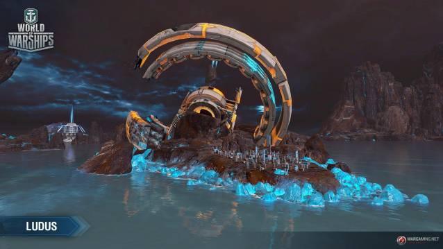 WoWS SPb LUDUS2_EN - World of Warships Ingame-Event schickt Spieler am 1. April in neue intergalaktische Welten