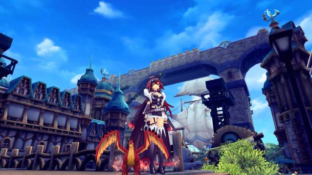 Aura Kingdom Red Dragon Screenshot