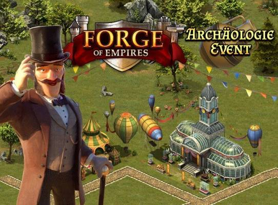 Forge of Empires Archäologie-Event