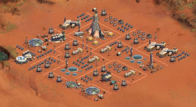 Forge of Empires Mars Colony