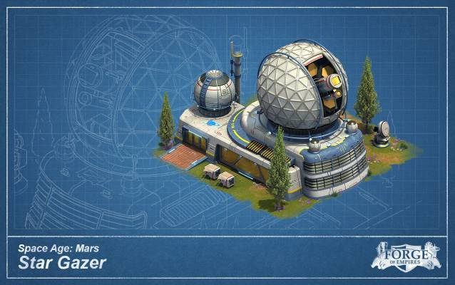 Forge of Empires Mars Star Gazer