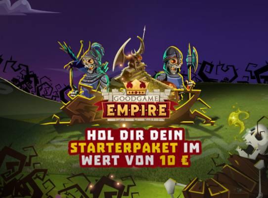 Kostenlose Gegenstände für Goodgame Empire