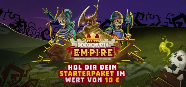 Kostenlose Gegenstände für Goodgame Empire - Empire Four Kingdoms