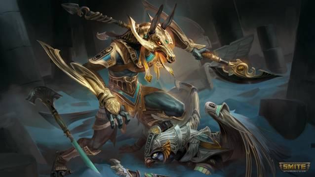 SMITE-Set Horus und Seth betreten das Schlachtfeld in SMITE!