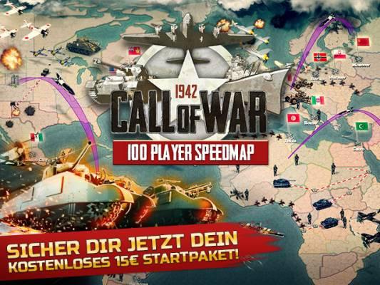 Spielwährung im Wert von 15 € für Call of War