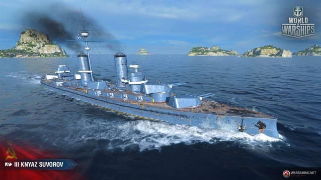 WoWS Update 0.8.4 erweitert das Spiel um sowjetische Kriegsschiffe