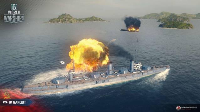 World of Warships Update 0.8.4 erweitert das Spiel um sowjetische Kriegsschiffe
