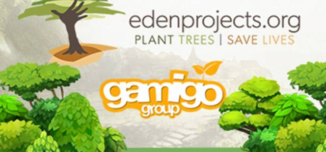 Gamigo mit Eden Reforestation Projects