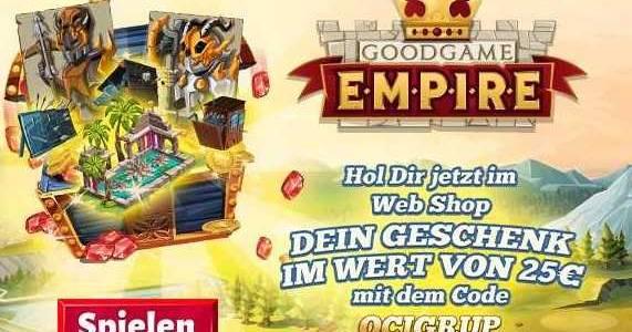 Goodgame Empire Giveaaway GratisMMORPG