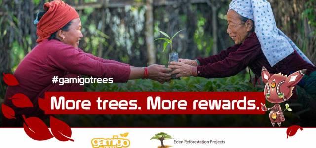 Wiederaufforstung Gamigo und Eden Reforestation