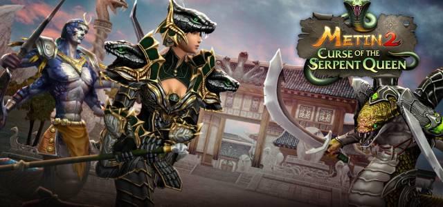 """Diesen Monat bricht mit Update 21.0 ein neues Unheil über Europas größtes MMO Metin2 herein: Der """"Curse of the Serpent Queen"""" wütet auf dem Kontinent Yohara"""