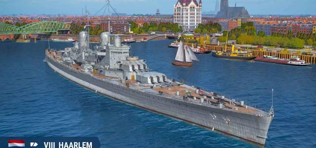 Stapellauf der Niederländischen Kreuzer ab sofort im Early Access von World of Warships