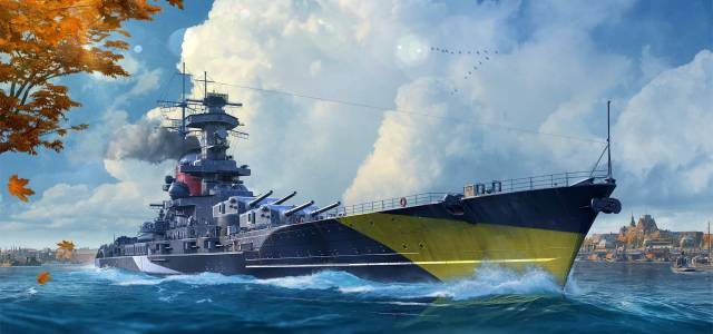 World of WarShips Halloween